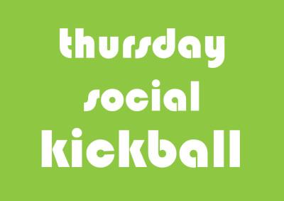 Thursday Coed Social Kickball
