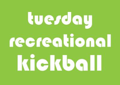 Tuesday Coed Rec Kickball