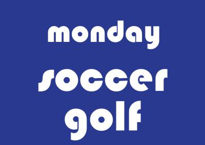 Eugene Monday Soccer Golf