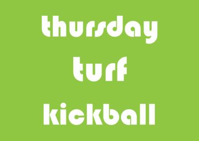 Thursday Turf Kickball