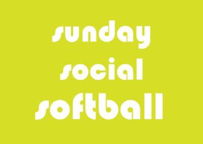 Softball Co-Ed Social Sunday