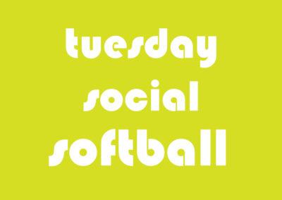 Softball Co-Ed Social Tuesday