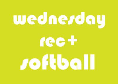 Softball Co-ed Rec+ Thursday