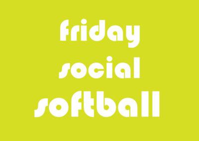 Softball Co-Ed Social Friday
