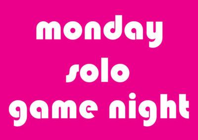 Monday Game Night